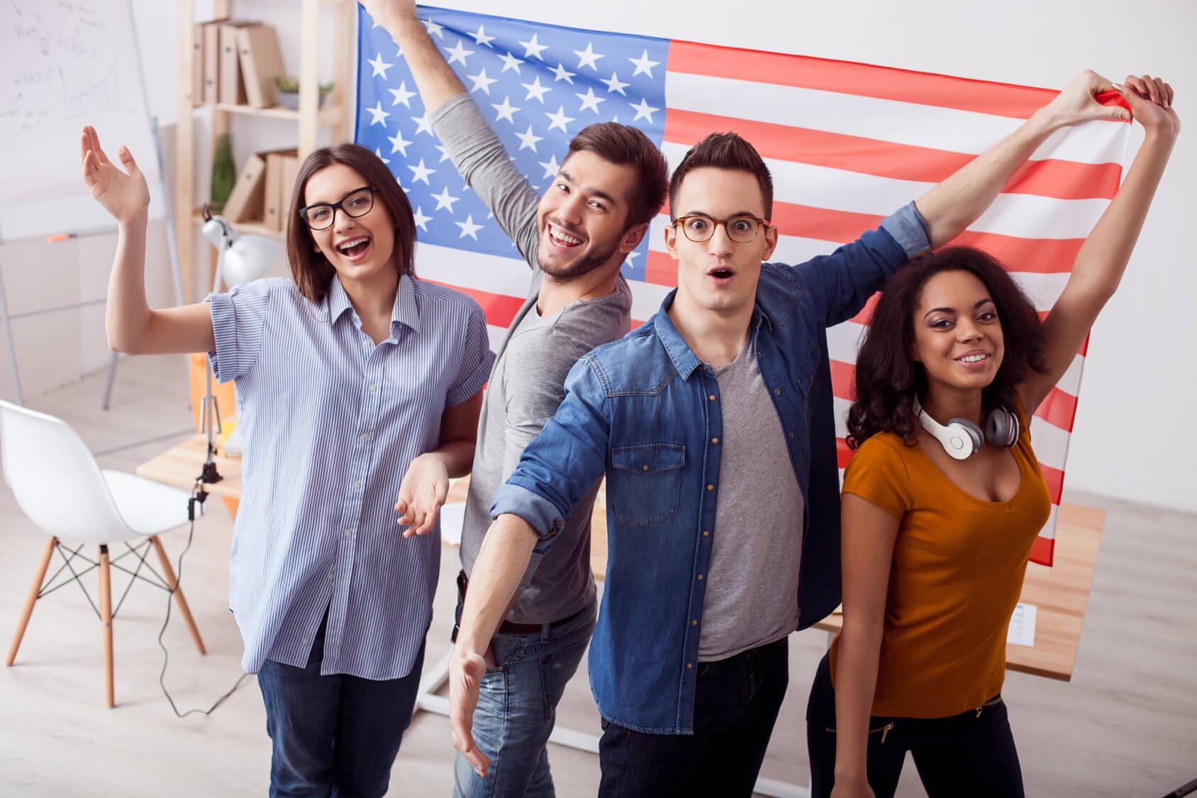 We love the Unites States of America