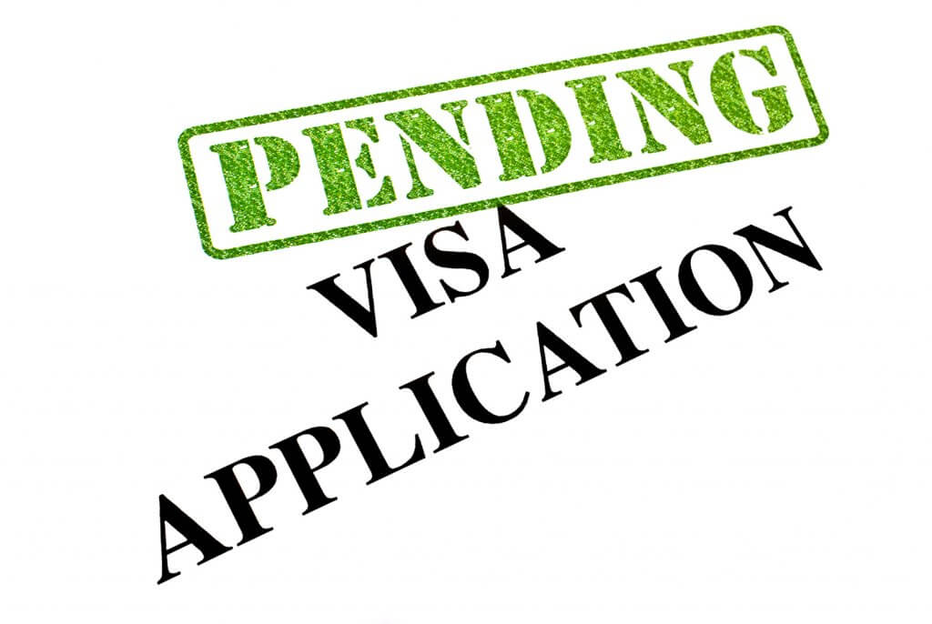 Visa Application PENDING