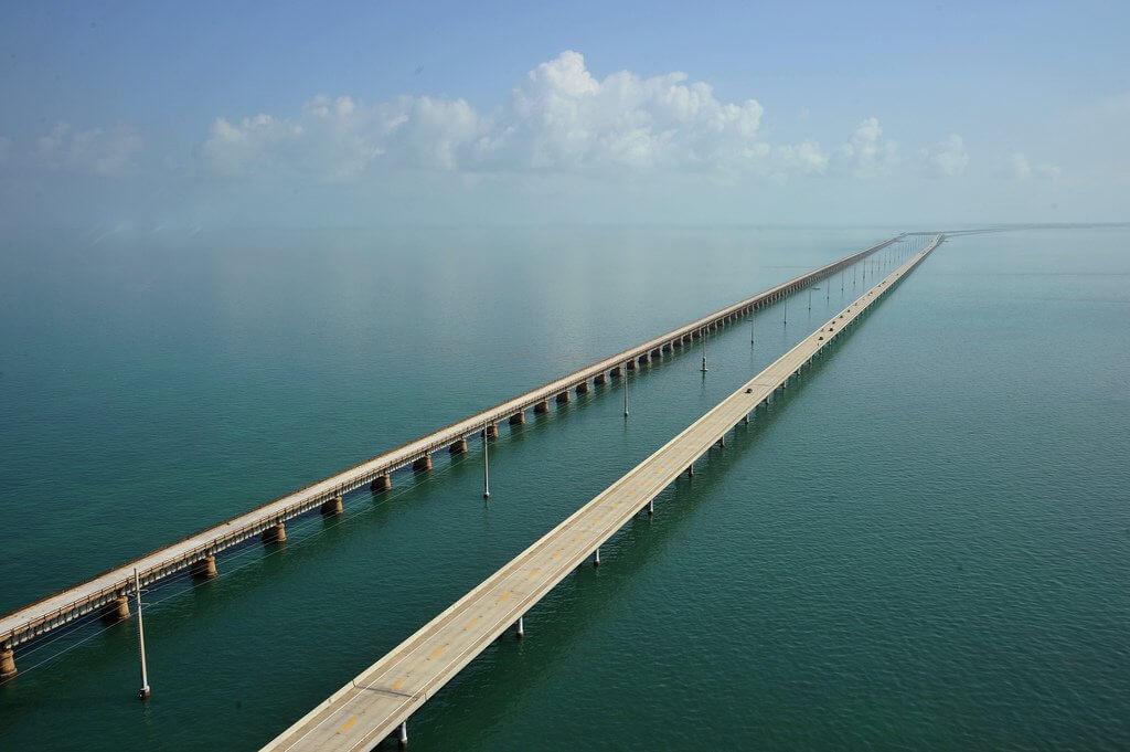 Overseas highway in Florida