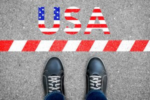 Foreigner is not allow to enter USA. America first policy.