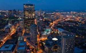 Boston à l'heure bleue - Blue Hour Boston
